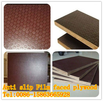 18mm 21mm Load Bearing Anti Slip Bus Train Flooring