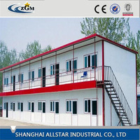 container flat/international shipping container/overseas shipping containers with bathroom