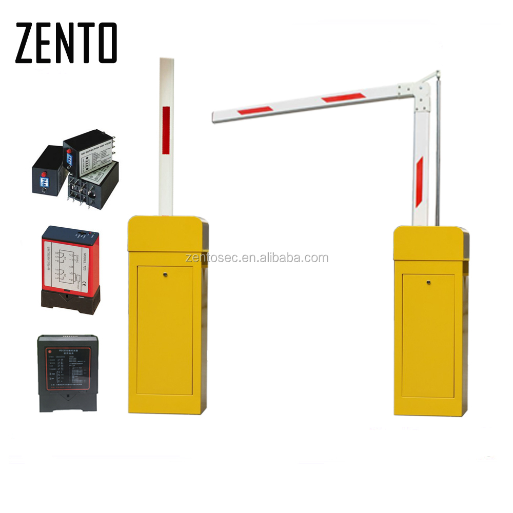 Zento Intelligent Car Parking lot management Barriers Gate 1 - 6 meters Straight arm/folding arm/fence Boom barrier