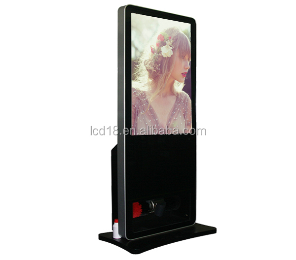 Ad player Factory 42 Inch CF Card Media Player with Automatic Shoe Polisher