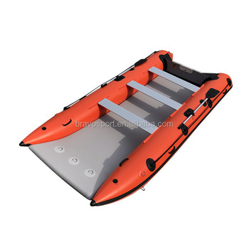 CE Inflatable Speed Folding Catamaran Rubber Boat For Sale