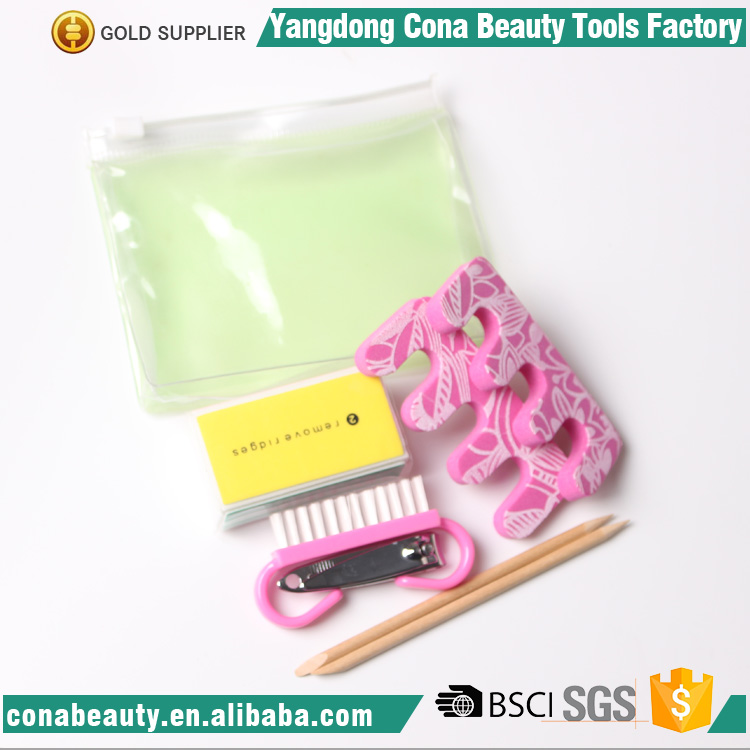 Nail care personal manicure 11.*9.5cm high quality manicure pedicure set