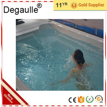 Degaulle Clear Acrylic Movable Jet Stream Endless Swimming Pool - Buy  Swimming Pool Jet Stream,Movable Swimming Pool,Clear Acrylic Swimming Pool  ...