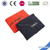 factory direct supply good quality 100% polyetser moving airline blanket