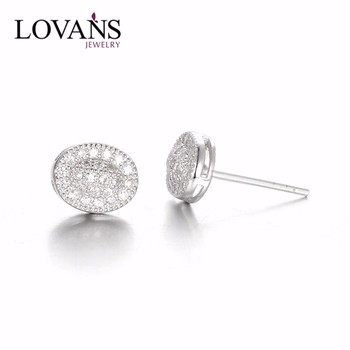 925 Sterling Silver Earring Mens Tanishq Diamond Earrings