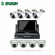 CCTV camera high image 8ch DVr kit with the monitor with low price