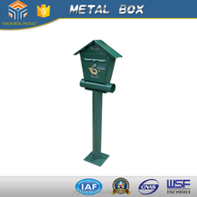 2016 hot sale pedestal antique outdoor free standing commercial mailboxes
