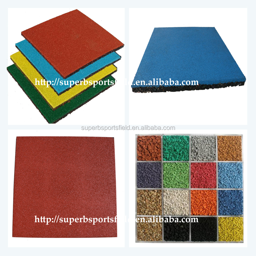Safety Kids Playground Rubber Flooring Mat,Kindergarten Rubber ...