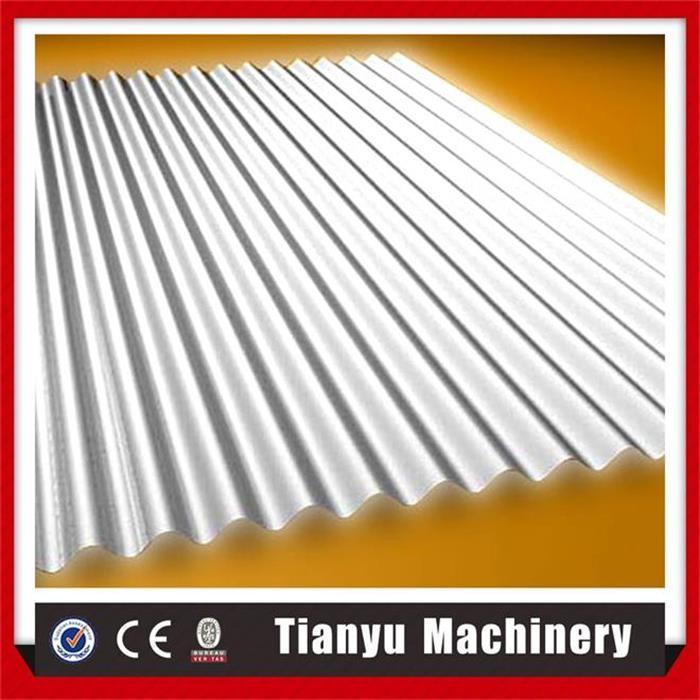 Trapeziumvormige metalen dak sheet roll forming machine in voorraad