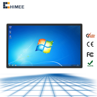 98inch aio touch screen pc with1920x 1080 full hd 1080p video led pc all in one