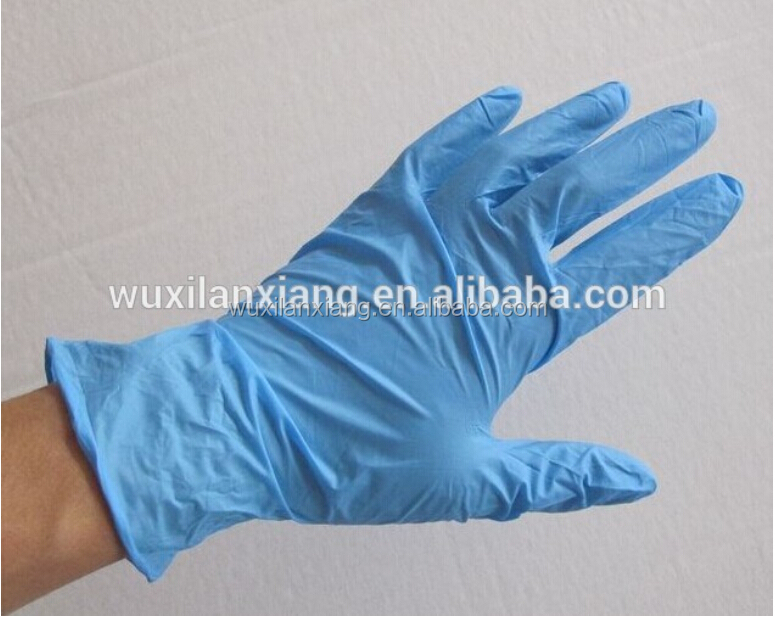 Wholesale CE Approved Powder Free Blue Disposable bulk Nitrile Medical <strong>Gloves</strong>