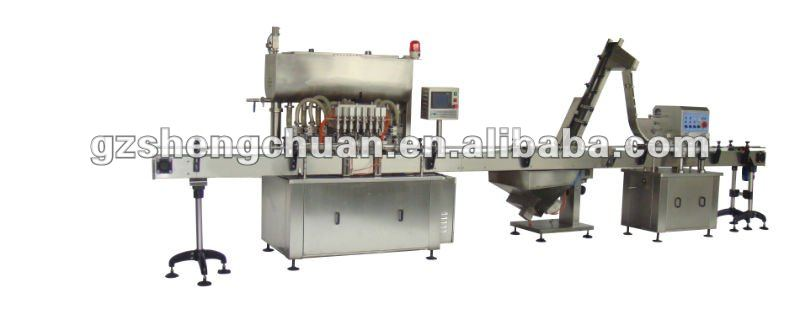 Automatic tomato sauce Packaging Line