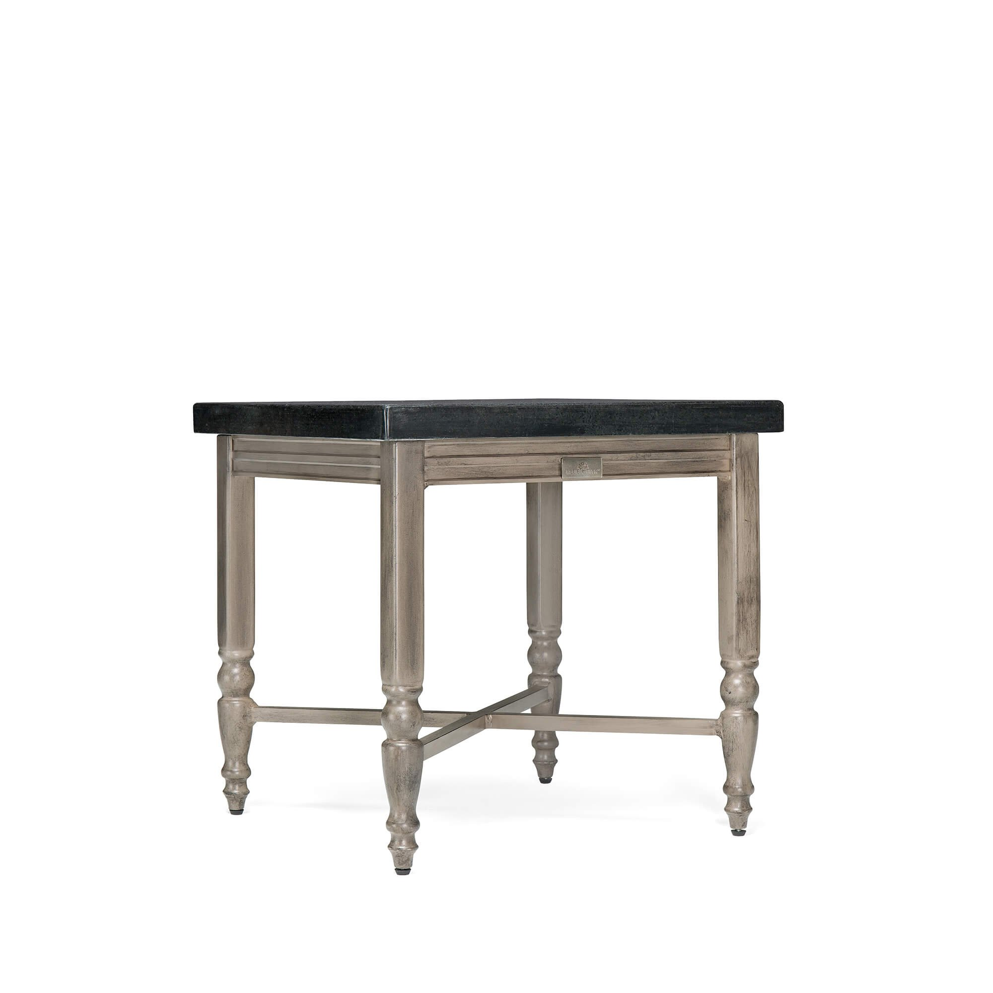 Blue Oak Outdoor Saylor Patio Furniture Natural Stone Top Side Table