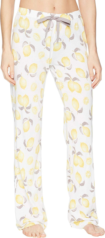 d0aa88faa Get Quotations · P.J. Salvage Womens Playful Prints Lemon Pants