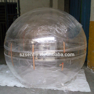 large outdoor clear plastic christmas balls