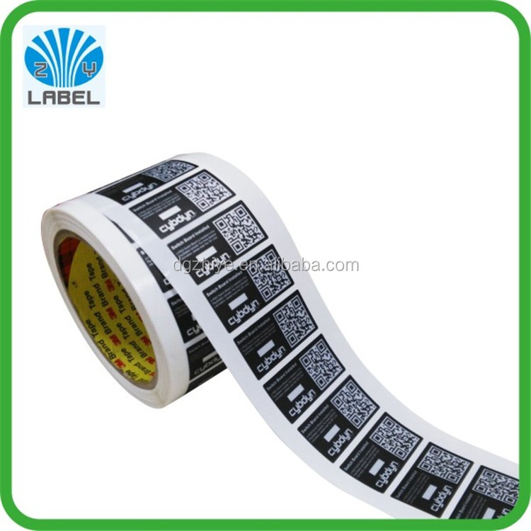 High quality custom PP tire labels self adhesive tyre stickers rubber tyre label