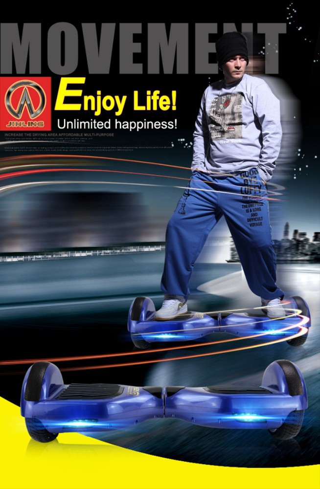 China Factory Wholesale Smart 2 Wheel Hoverboard With Bluetooth