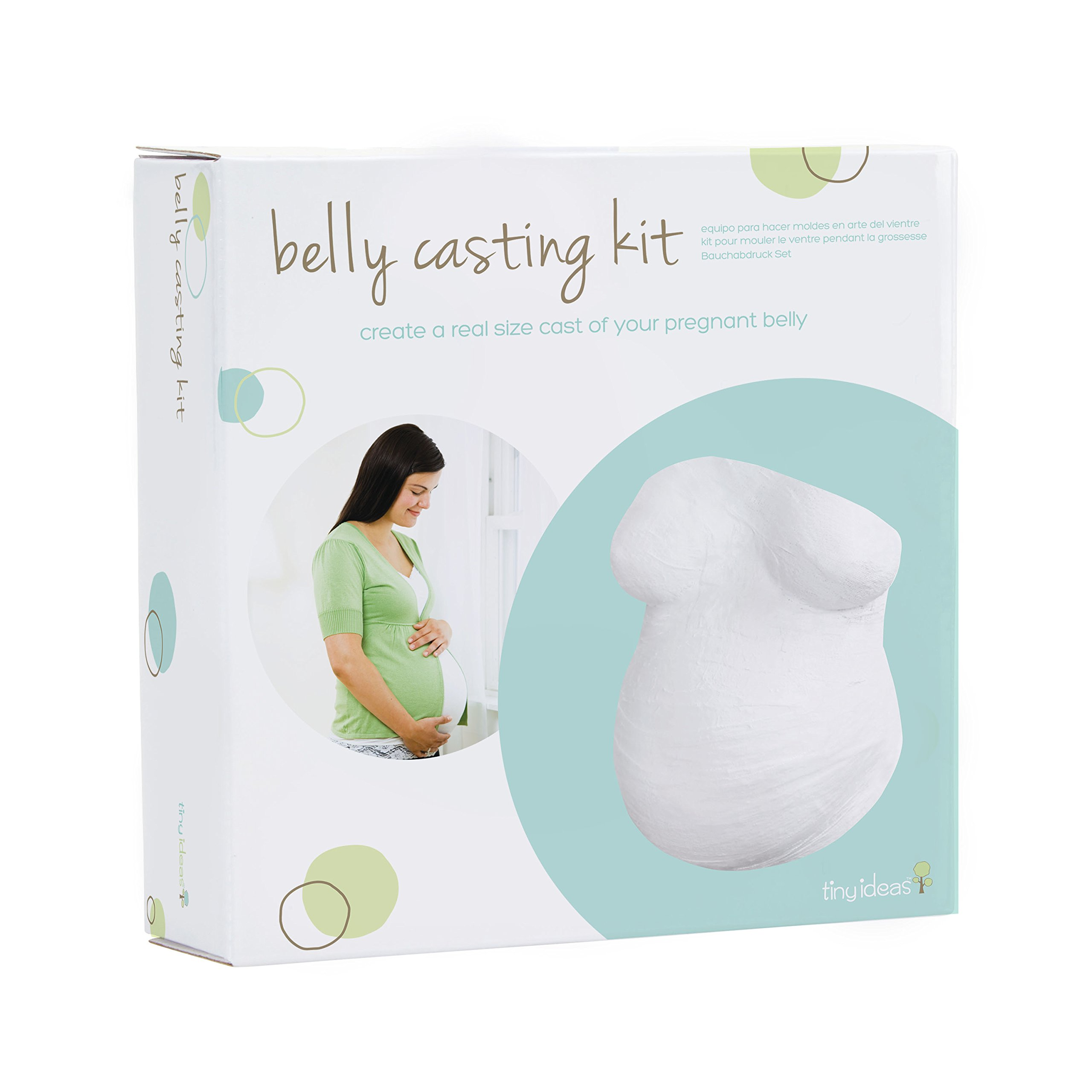 Pregnant Maternity Gift by BabyRice Large Belly-licious Belly Casting Kit