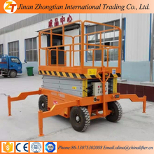 Hydraulic man lift/mobile scissor /home Cleaning man Elevator
