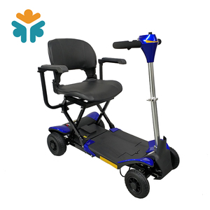 Portable Battery Operated Lightweight 4 Wheel Mobility Scooter