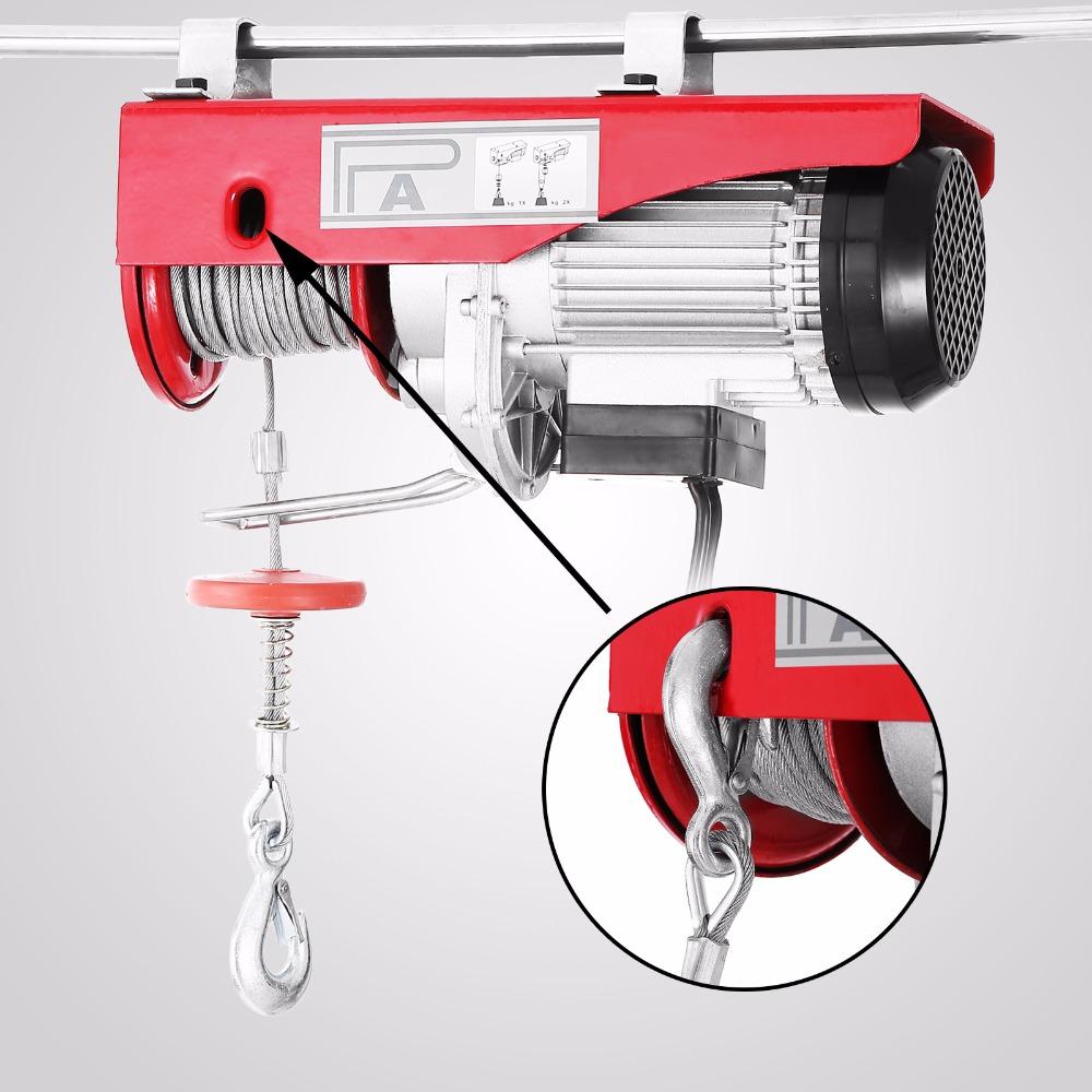 Elevación elevador eléctrico 440LBS 200 kg polipasto eléctrico ...