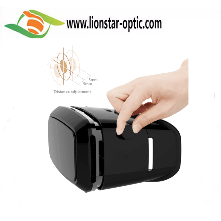 VR Lionstar Cheap custom plastic google cardboard vr 3d glasses