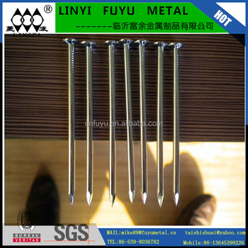 LINYI BRIGHT FLAT POLISHED COMMON WIRE NAIL