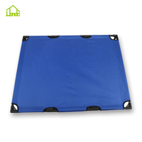 Cot style outdoor dog bed durable metal frame elevated dog bed from factory with low price
