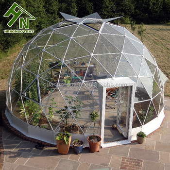 China Supplier Igloo Glass Dome House Garden Geodesic