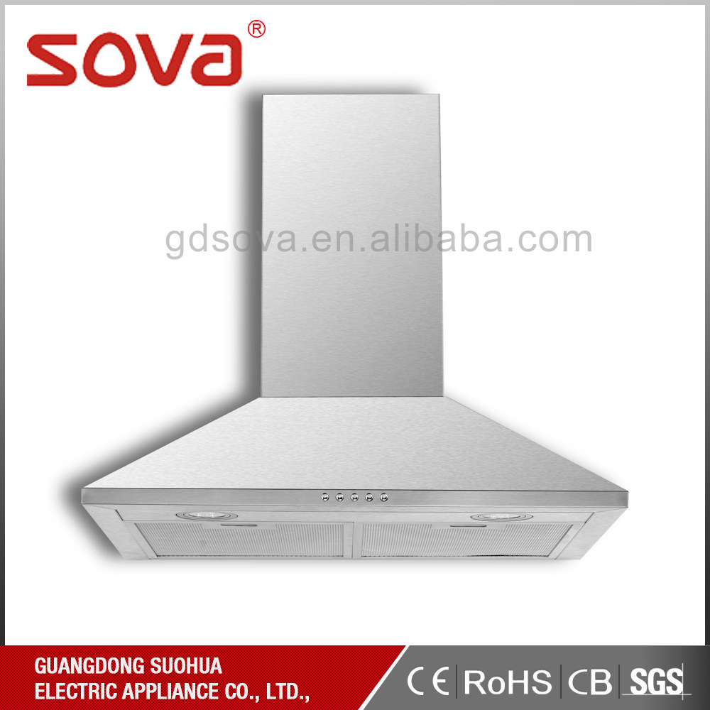 High quality Under Cabinet Stainless Steel Kitchen Exhaust Range Hood