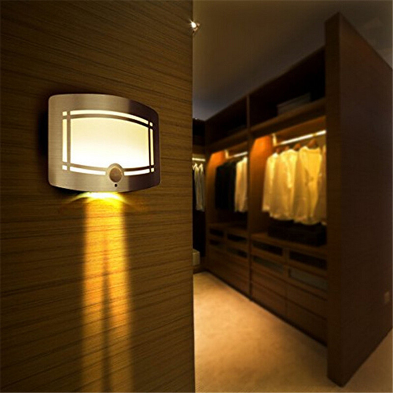 Free Shipping Home Led Night Light Wireless Stick Anywhere