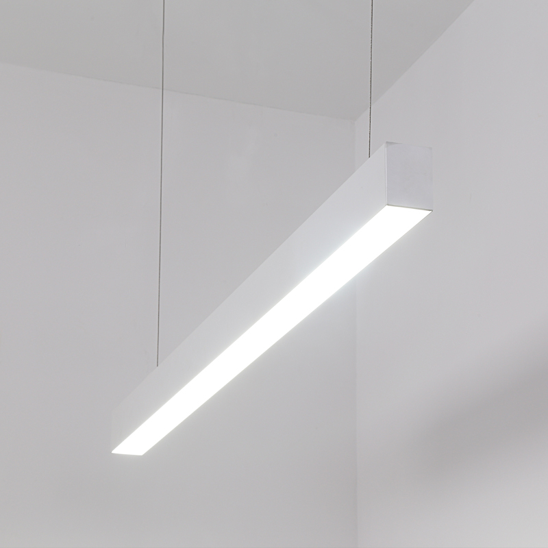 LED office lighting 1200mm 20W SMD suspended  linear light for shopping mall factory