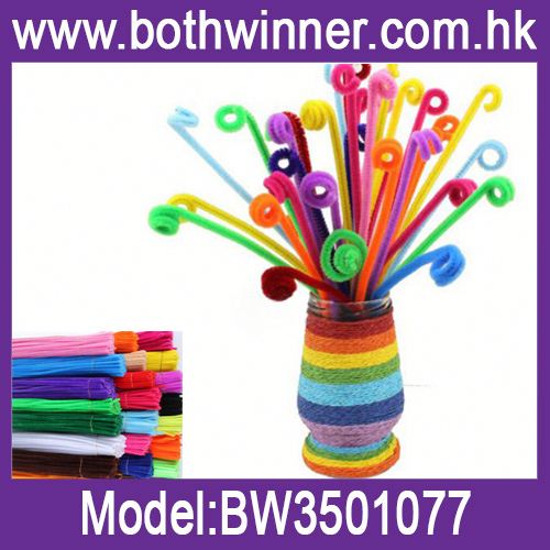 Color wire chenille stem h0tNn kids diy arts and crafts for sale