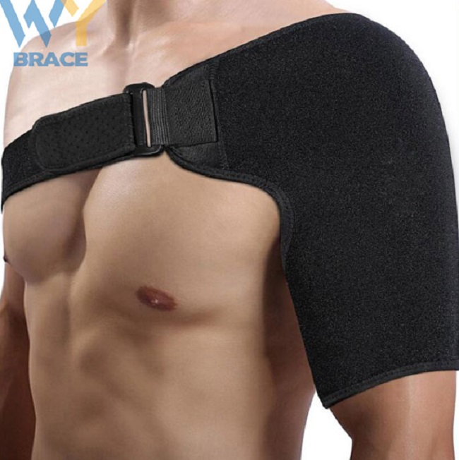 Neoprene Adjustable <strong>Shoulder</strong> Brace support wrap for Injury Joint Dislocated Prevention and Recovery fit left and right