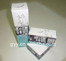 2012 pretty customized cosmetic packaging box