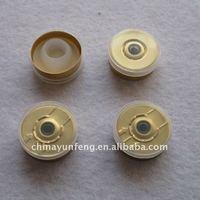 Transparent Flip Off Vial Caps for 10ml, 15ml, 20ml bottles