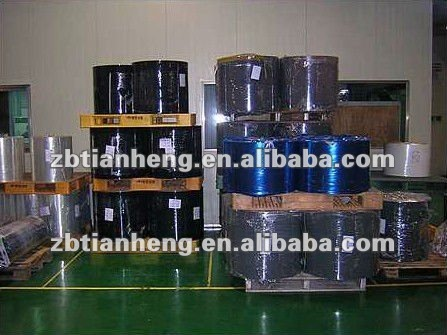 gloss black HIPS rigid film roll for antistatic electronic package