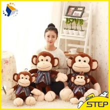 2016 Hot Sale Lovely Monkey Stuffed Plush Toy ICTI Audited Factory ST160305-11