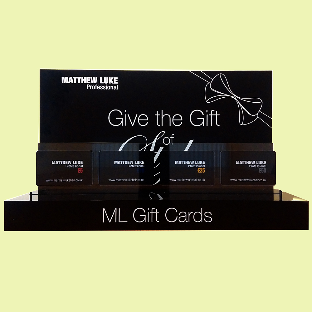 Bespoke Acryl Gift Card Display custom retail display producten acryl retail displays