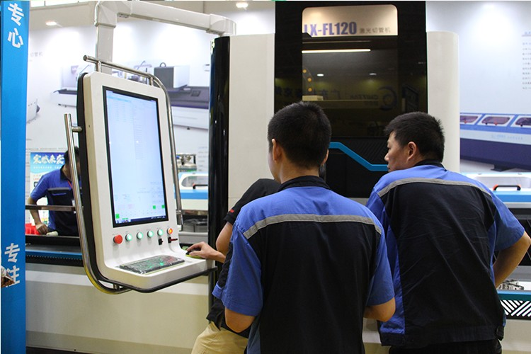 500w cnc or semi automatic metal stainless steel iron tube & pipe fiber laser cutting machine