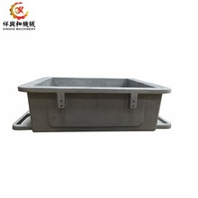 China OEM aluminum sand casting mould box with CNC machining