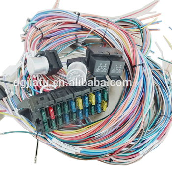 Universal 20 Circuit Fuse Box Wire System Features An Easy To Install on