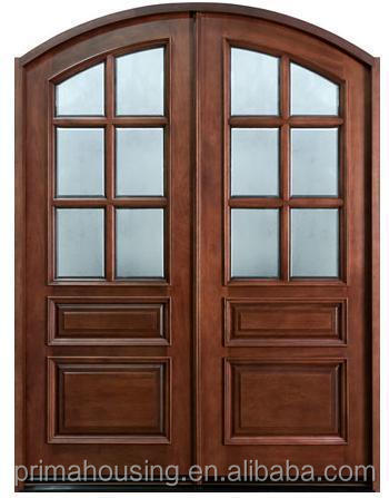 Modern Solid Wood Main Doors Indoor Wooden Doors Price