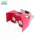 Factory Sales Custom Printing 3D Vr Virtual Reality Google Cardboard V2 Glasses Promotion