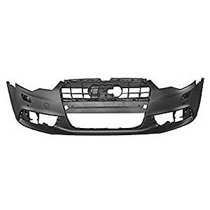 Crash Parts Plus Primed Primed Front Bumper Cover for 12-15 Audi A6 AU1000208
