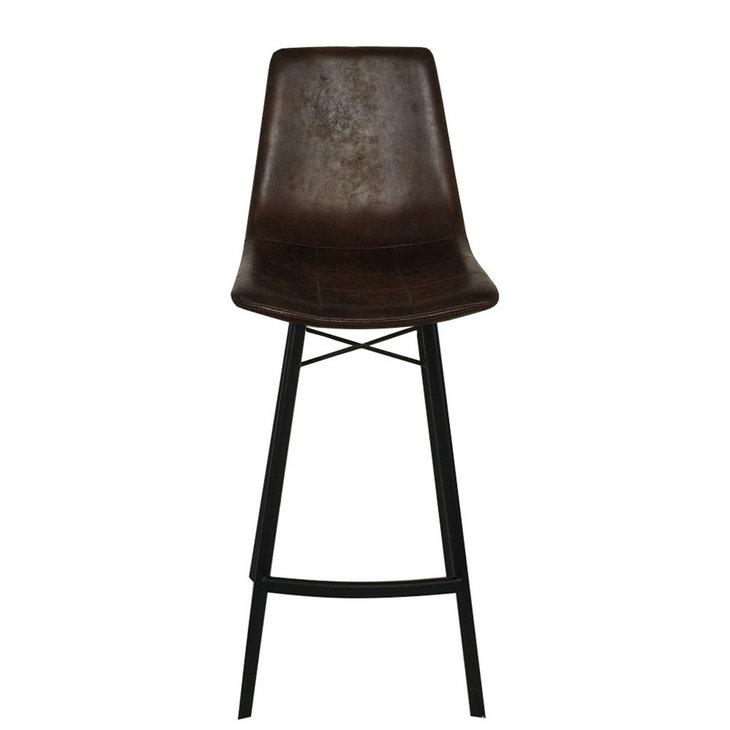 meilleurs de chaise en cuir Acheter les brun Grossiste barre OiuZPkX