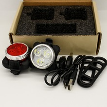 Bulk buy bicycle lights with usb rechargeable