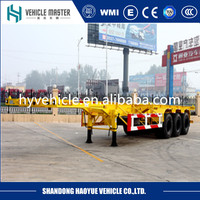 Truck Trailer Use Used Container Chassis for sale