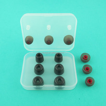 HZ-051 HZ-086 Memory foam earplugs silicone eartips and display box headset earplugs full package production