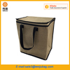 Custom Food Delivery Bags Jute Cooler Bag Insulated